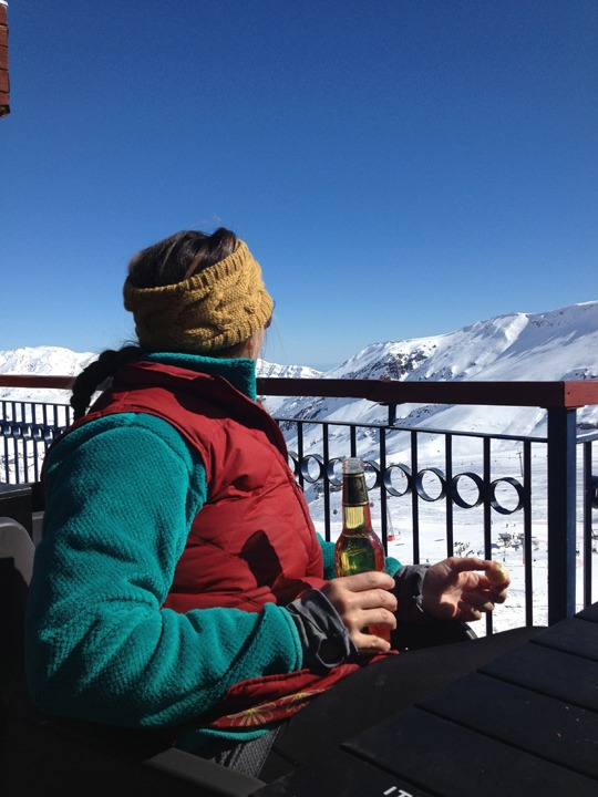 Valle Nevado view
