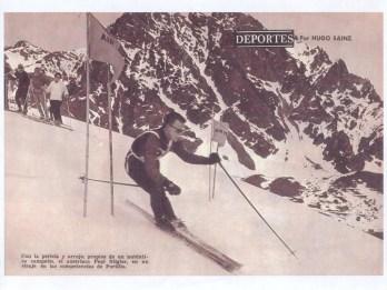 Ski racer Portillo 1966