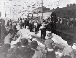 Transandean Railroad historic photo