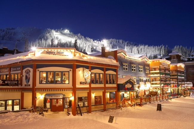 Silver Star ski in, ski out lodging