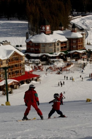 family friendly Kimberley, Kimberley ski school