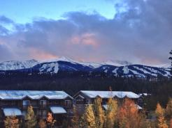 Breckenridge fall snow