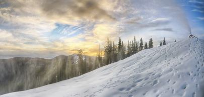 Snowmaking at Copper Mountain