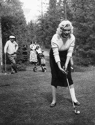 Marilyn Monroe in Banff