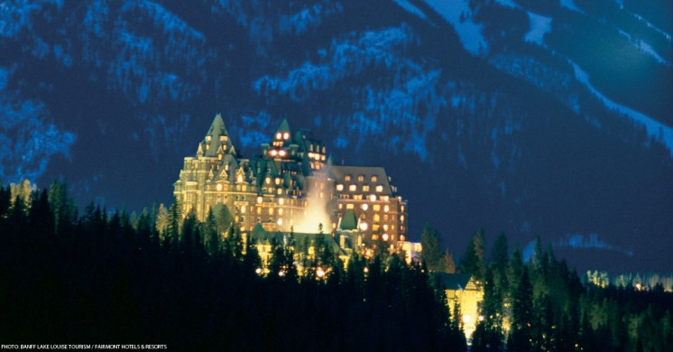 "The ""Castle in the Rockies"" 