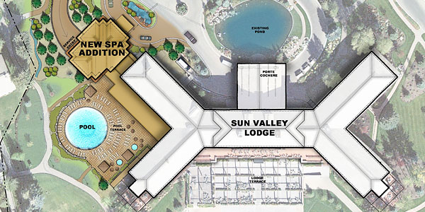 The Sun Valley Lodge will be closed for the 2014/15 while it updates rooms, the lobby and more.
