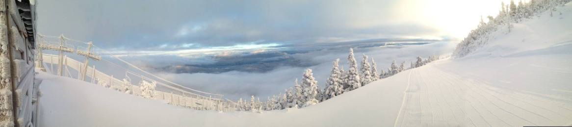 Sugarloaf's sunrise was quite the spectacle this morning | Photo: Sugarloaf, Dec. 12, 2014