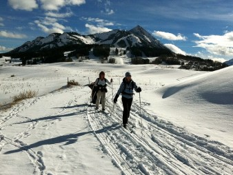 Crested Butte offers 34 miles of maintained Nordic trails. license: https://creativecommons.org/licenses/by/2.0/legalcode