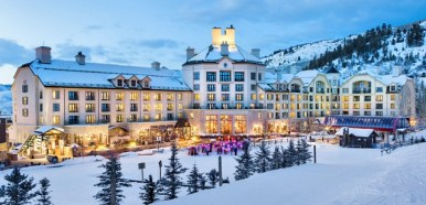 The Park Hyatt Beaver Creek offers ski in, ski out access.