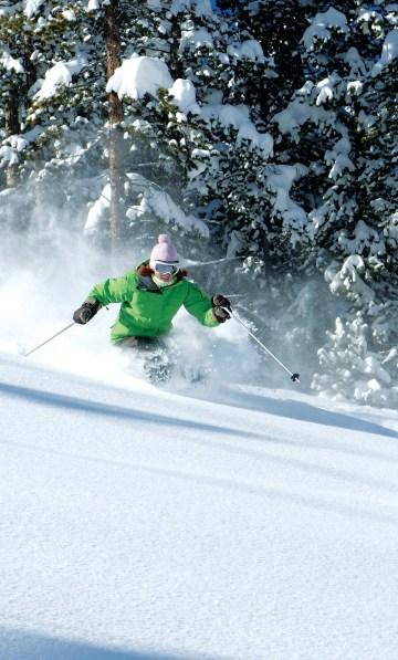 Crested Butte intermediate skiing, intermediate terrain in Crested Butte