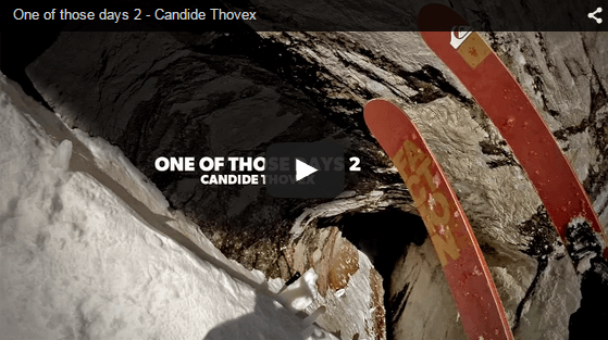 Great ski video candide thovex
