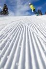 snowboarding corduroy Aspen Snowmass