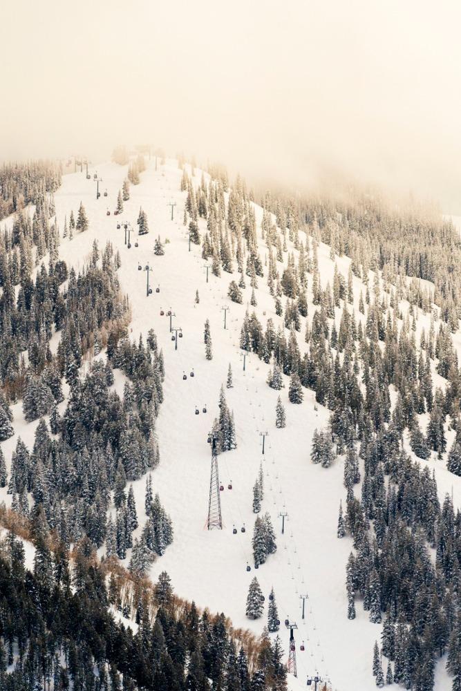Silver Queen Gondola Aspen Mountain, Silver Queen Gondola Ajax Mountain