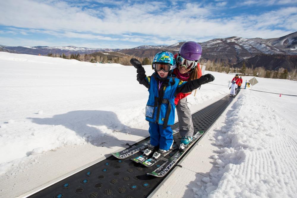 Buttermilk beginner skiing, Buttermilk beginner area