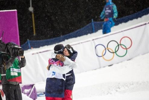 Aaron Blunck U.S. Olympian Sochi, David Wise gold medal ski halfpipe
