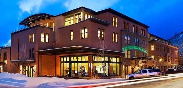 Limelight hotel, downtonwn Aspen