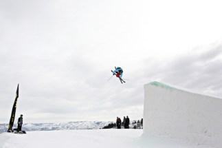 Last month, Keri Herman, 32, of Breckenridge, took the top of the Dew Tour podium. pc: Sarah Brunson/U.S. Snowboarding