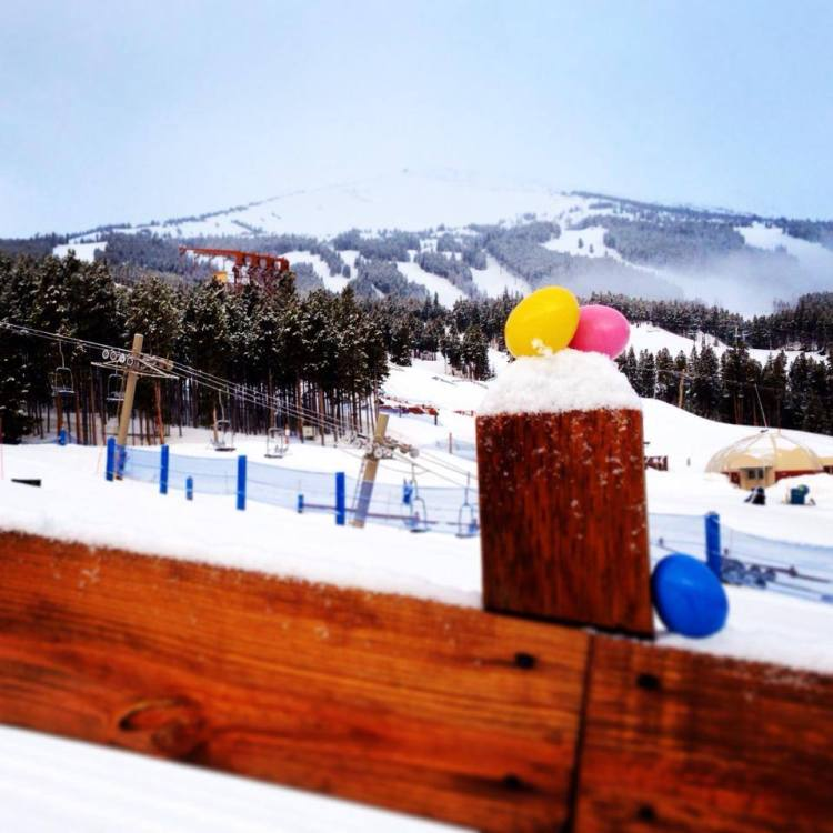 Breckenridge Easter egg hunt