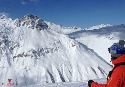 Val d'Isere, after the clouds cleared on Feb. 7 | Photo: Val d'Isere