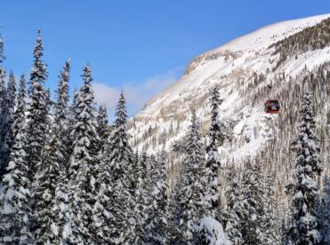Sunshine Village Banff new snow