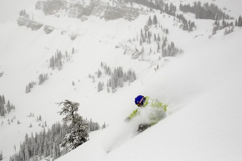 Jackson powder day