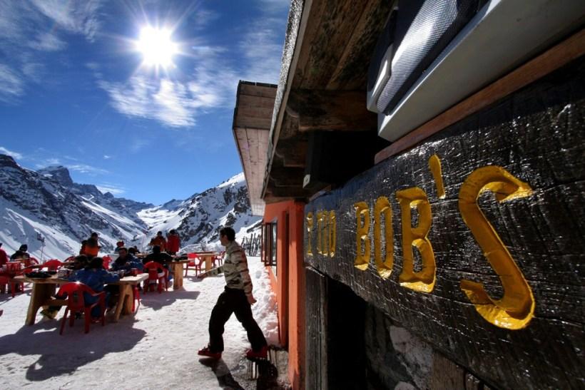 Tio Bob's at Ski Portillo