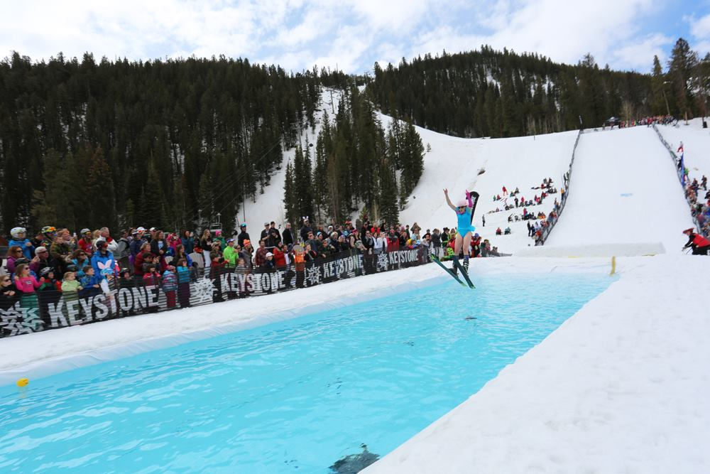 pond skimming Keystone