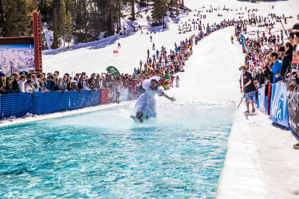 pond skim Mammoth