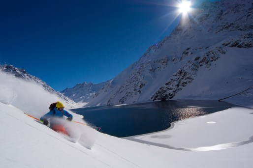 powder skiing Portillo