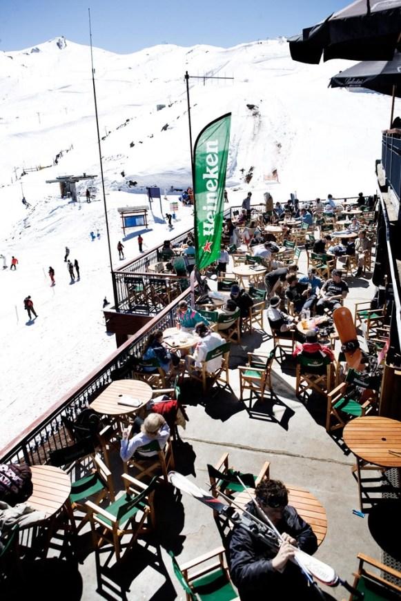 Apres ski at Valle Nevado