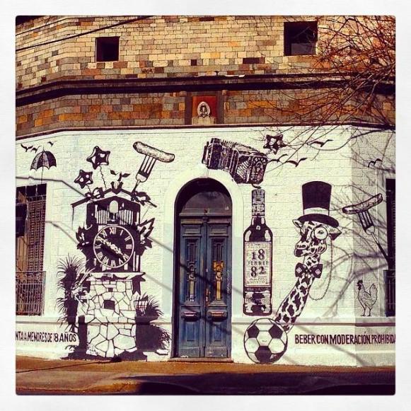 Chile street art, Valparaiso street art,