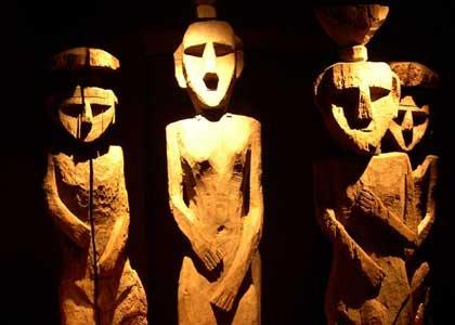 Ancient Chelmamüll figures were used in Mapuche funeral rites. | Photo: Museo Chilena de Arte Precolumbino