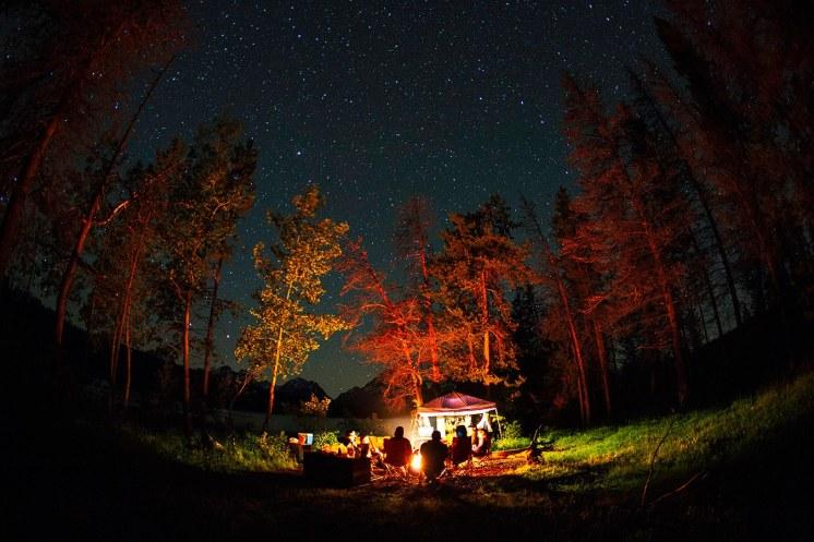 Jackson Hole camping, Jackson summer