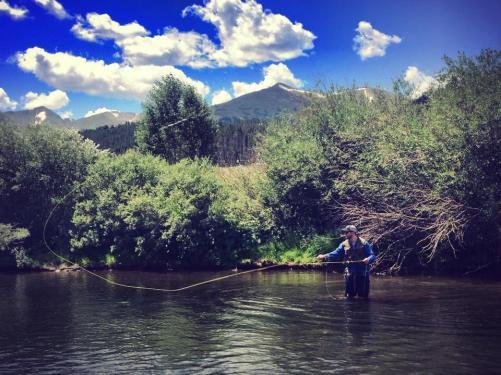 fly fishing Breckenridge, Breckenridge
