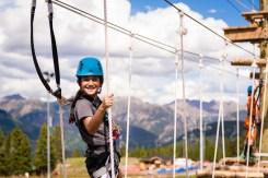 ropes course Vail, Adventure Ridge
