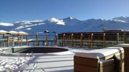 Valle Nevado hot tubs will be full by Friday!