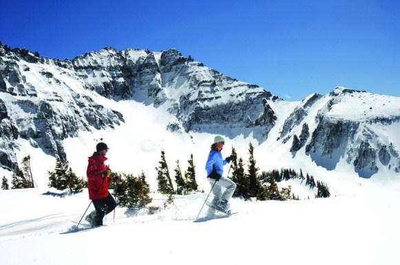 Snowshoeing Telluride