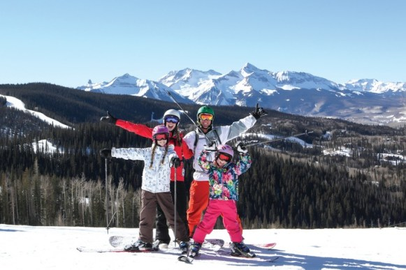Galloping Goose descends for 4.6 miles from the top of Prospect Lift down to Sunshine Lift. | Photo: Telluride Ski Resort