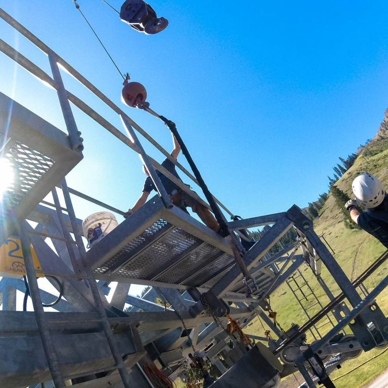 new lift at Squaw