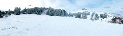 Courchevel october snow