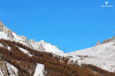 val d'isere snow, october snow in Europe, october snow in alps