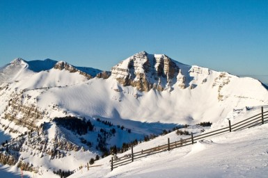 Jackson Hole Rendezvous Mountain