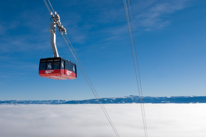 Jackson Hole first tram, Jackson Hole first box