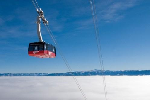 Jackson Hole first tram, Jackson Hole first box