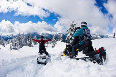 snowmobile Whistler