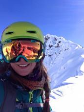 first-time heli skiing