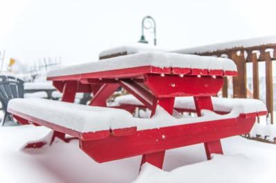 New snow at Big White