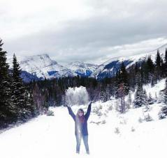 New snow at Sunshine Village
