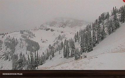 New snow Jackson Hole