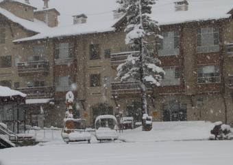 New snow at Kirkwood